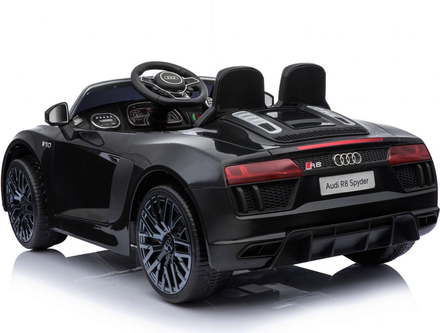 Compact Licensed Audi R8 Spyder 12v Children S Electric Ride On Toy