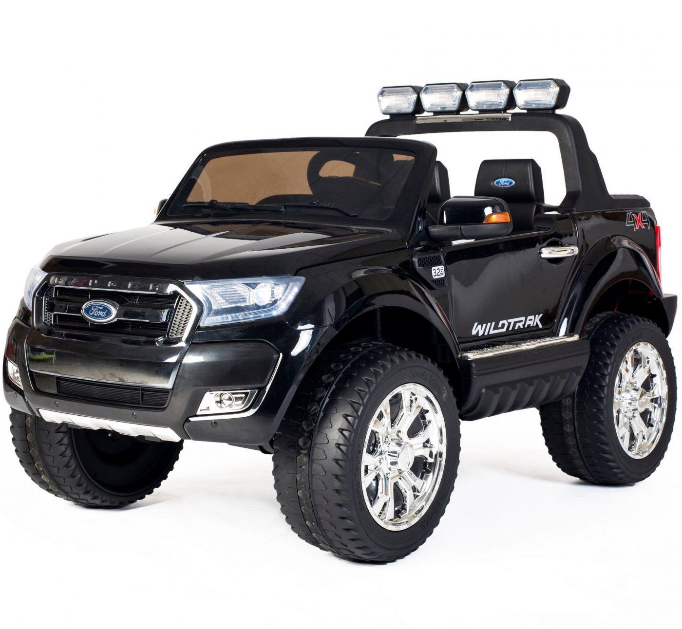 24v Ride On Ford Ranger Wildtrak 4wd Black