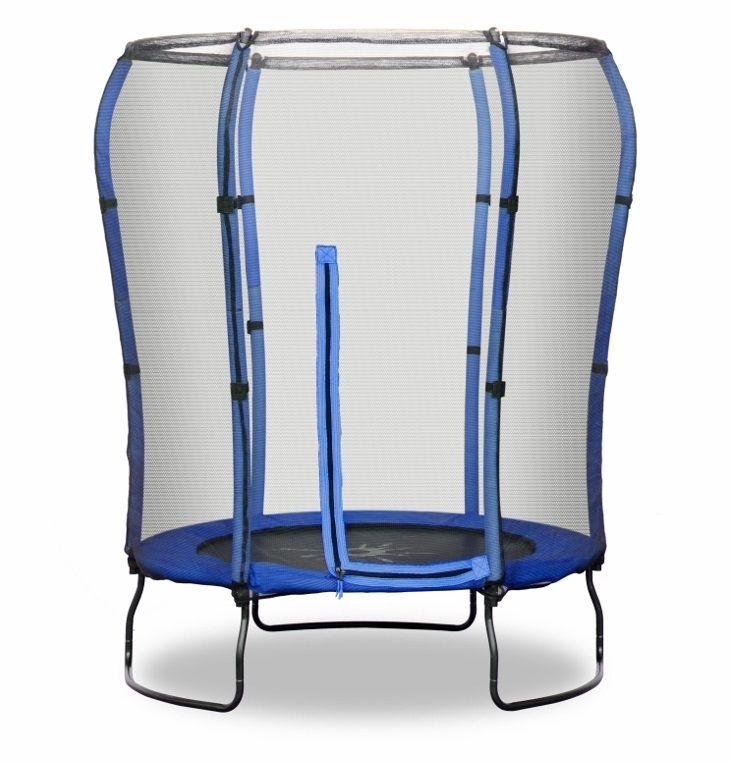 45FT Trampoline Rebo Safe Jump In Blue