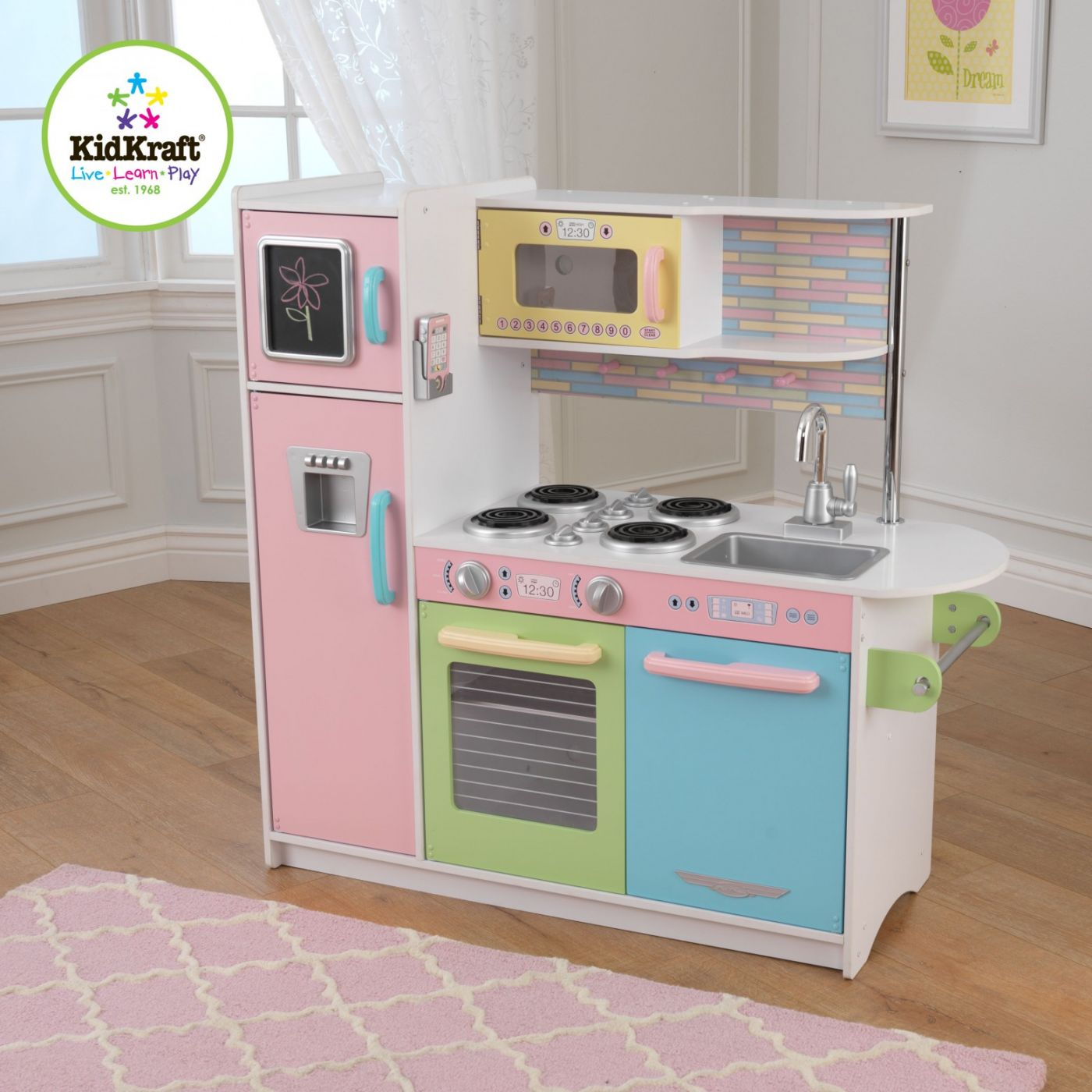 Kidkraft Modern Country Kitchen 53222 Uk