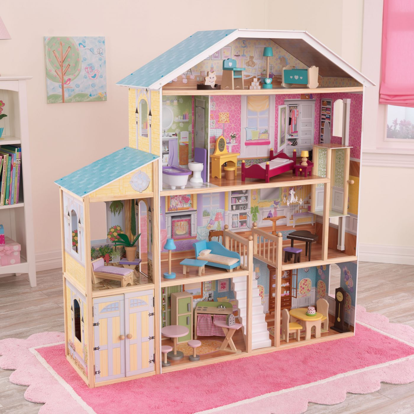 Kidkraft Majestic Mansion Dollhouse For Just 179 95 Outdoor Toys