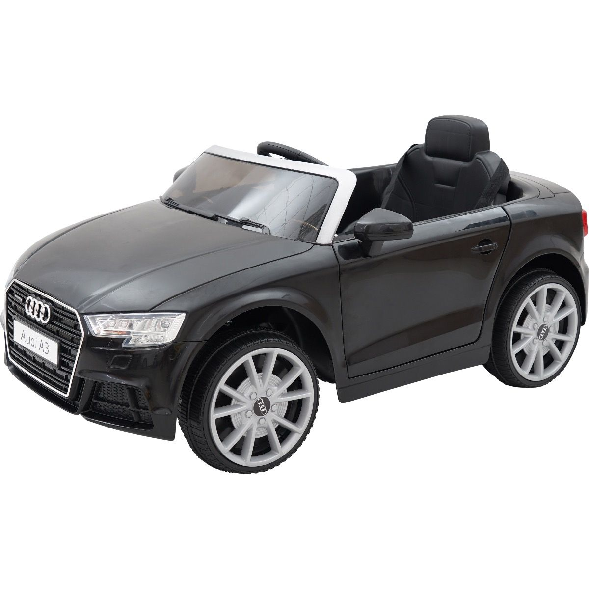 76a5b9a97694 Licensed Audi A3 12V Battery Operated Children's Ride On Car - Black For  Just £109.95 | Outdoor Toys