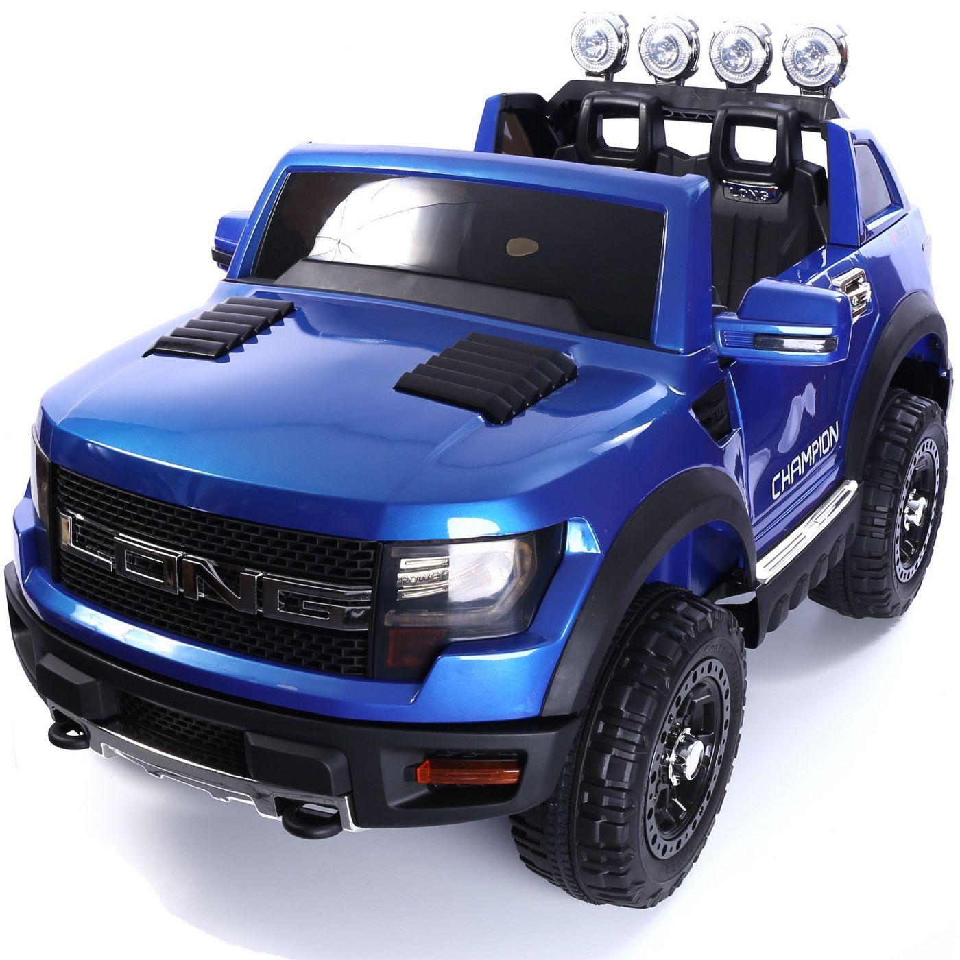 Ford ranger style 12v children ride on blue