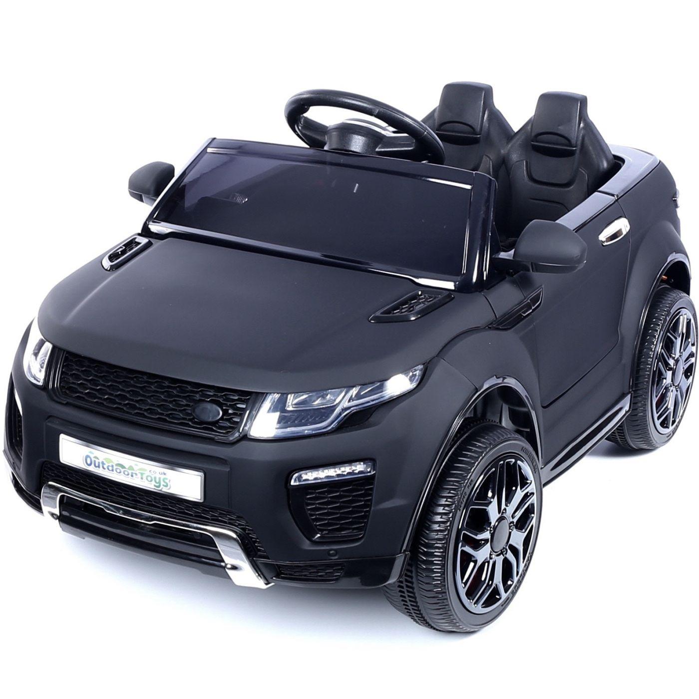 bacebaa0a35 Range Rover Evoque Style 12v Child s Ride On Car - Matt Black For ...