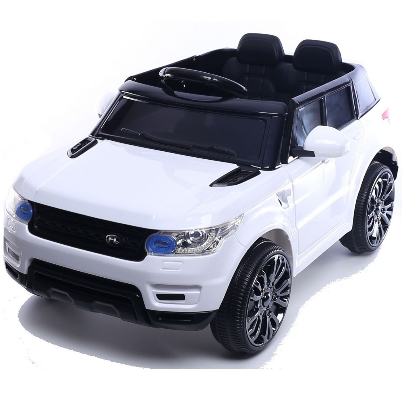 Mini Hse Range Rover Style 12v Childs Ride On Jeep White For Just