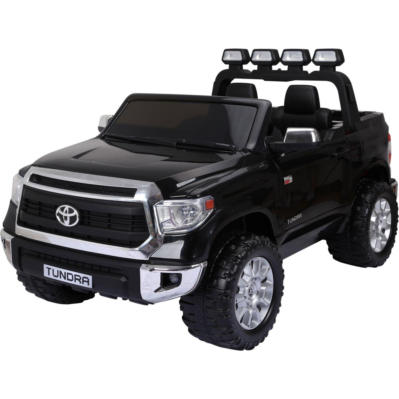 Licensed Toyota Tundra 24v Ride On Children S Electric Jeep Pickup Black