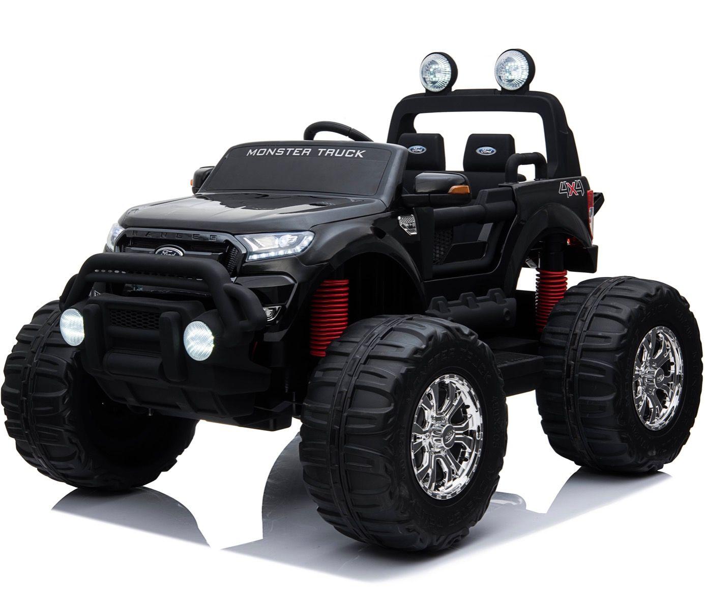 Licensed 24v Ford Ranger Monster Truck Ride On Jeep Black For Just 379 95 Outdoor Toys