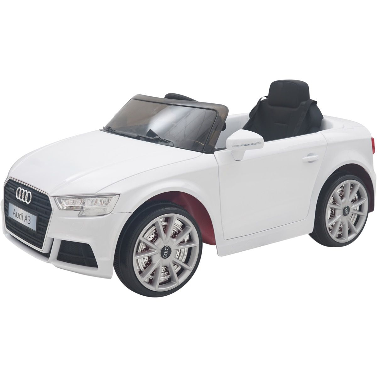 b59974bc803e Licensed Audi A3 12V Battery Operated Children's Ride On Car - White For  Just £109.95 | Outdoor Toys