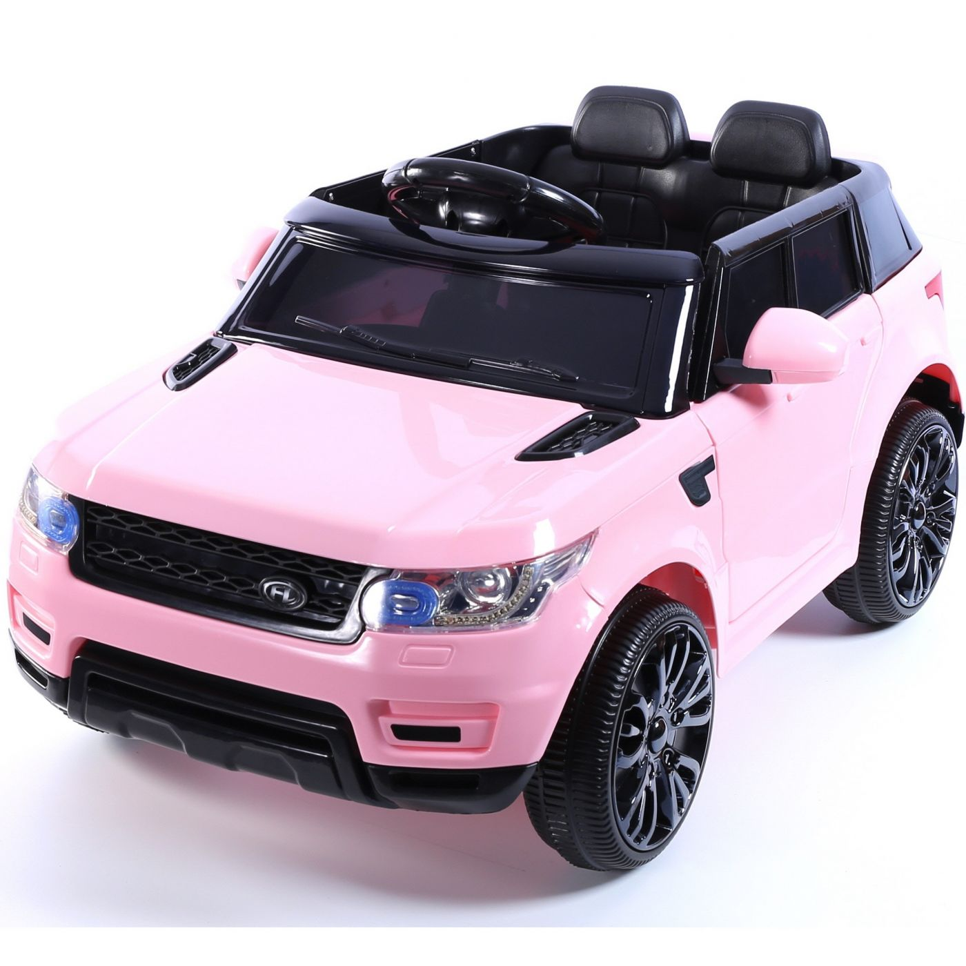 Mini Hse Range Rover Style 12v Childs Ride On Jeep Pink For Just