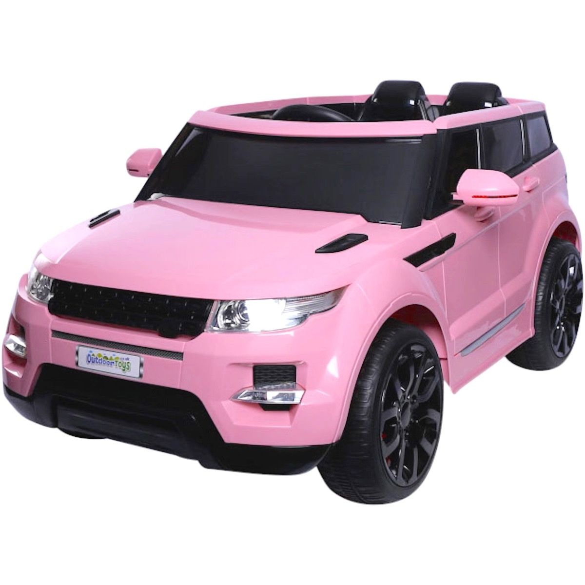 d4b3ee43c0b Maxi Range Rover HSE Sport Style 12v Electric Battery Ride on Jeep - Pink  For Just £199.95