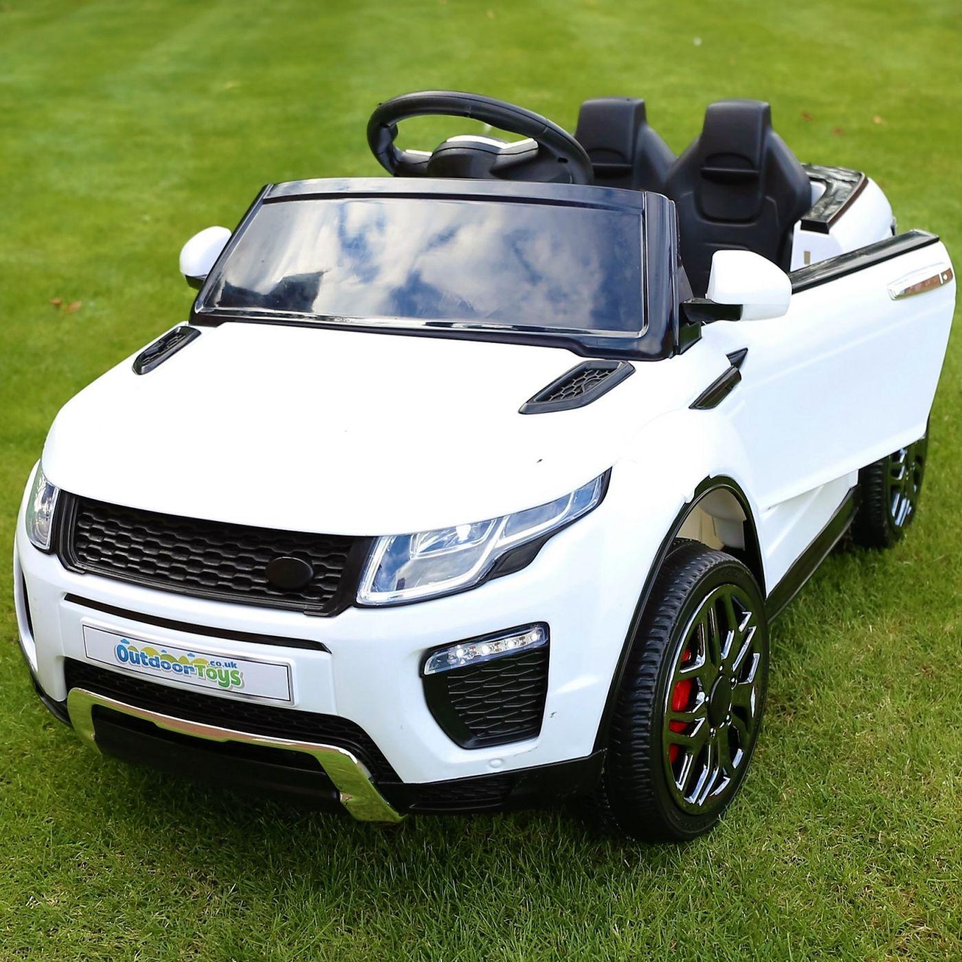 Range Rover Evoque Style 12v Child's Ride On Car - White