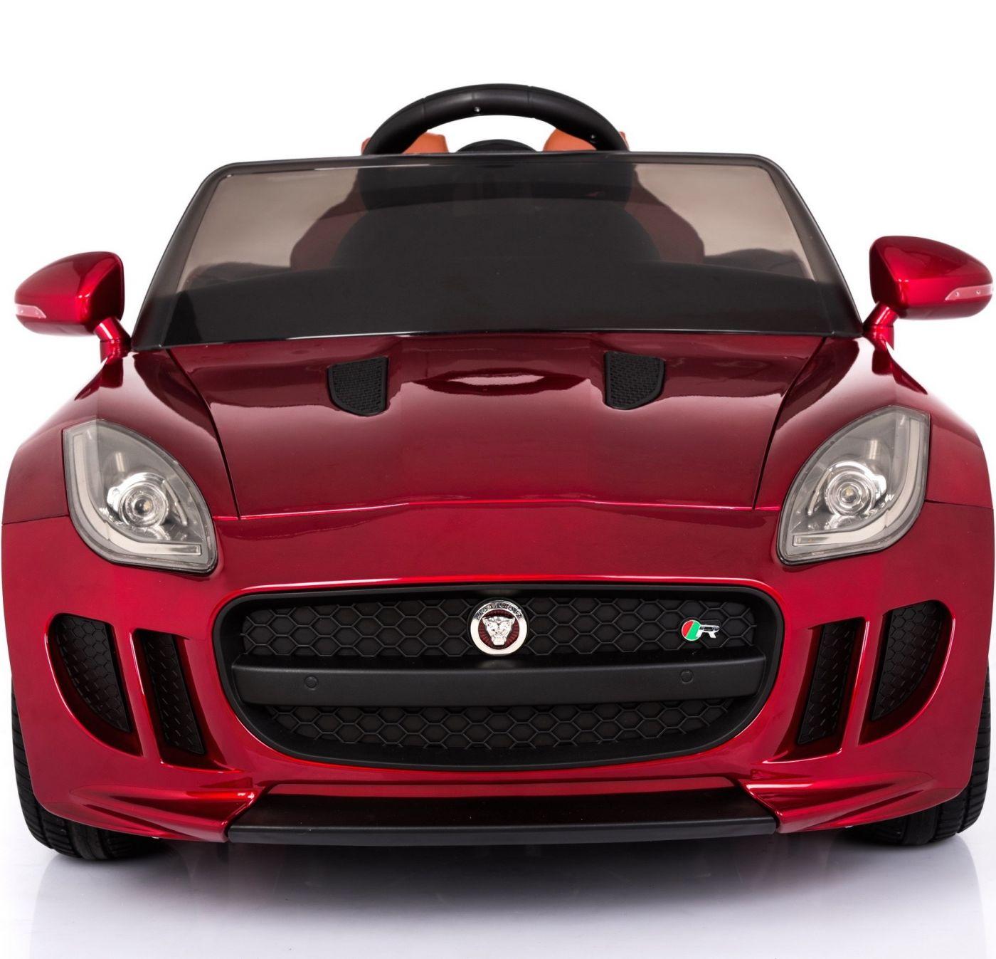 Licensed Jaguar F-Type 12V Children's Ride On Car with 2 4G Parental Remote  Control - Red