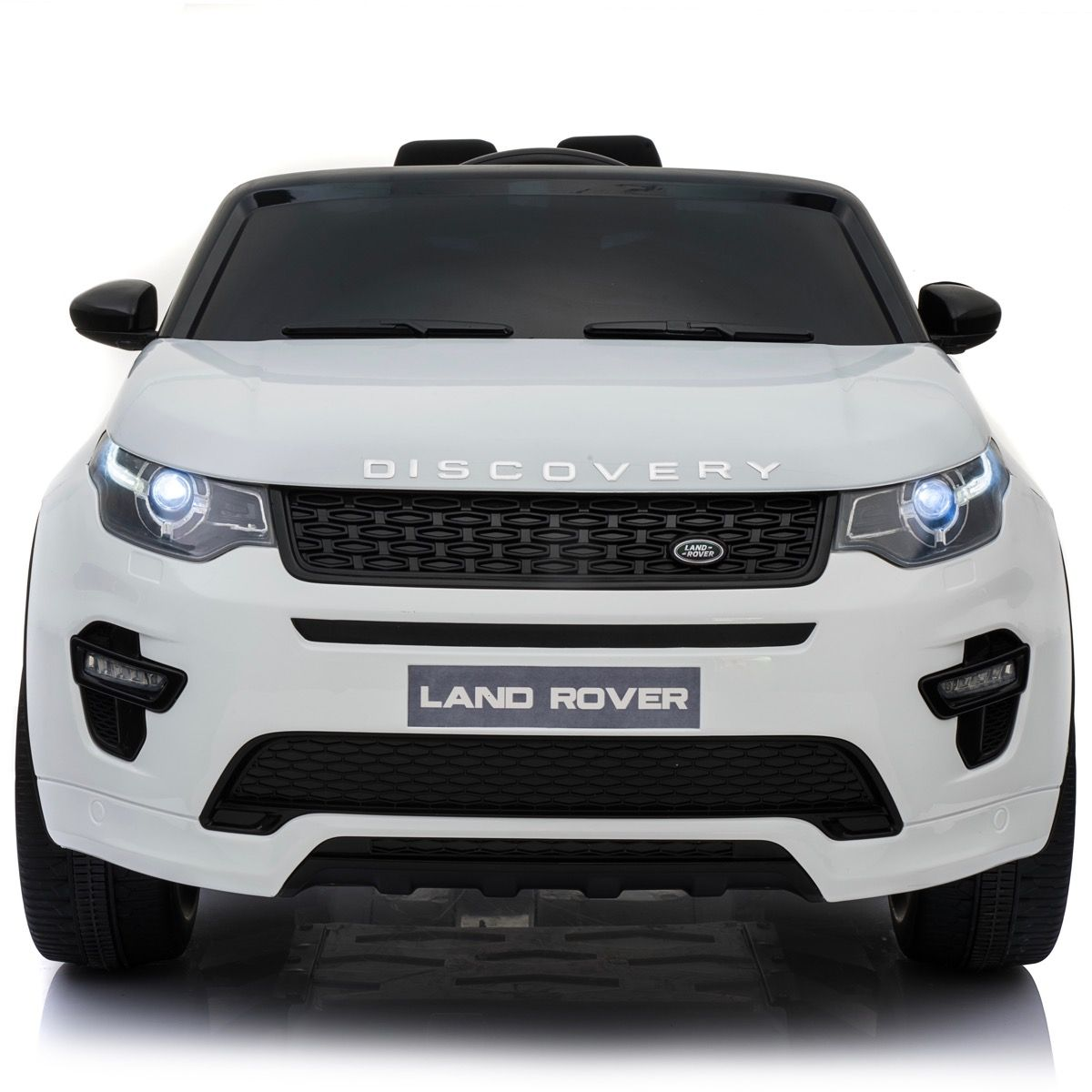White Land Rover >> Licensed Land Rover Discovery Sport 12v Ride On Battery Operated Jeep White