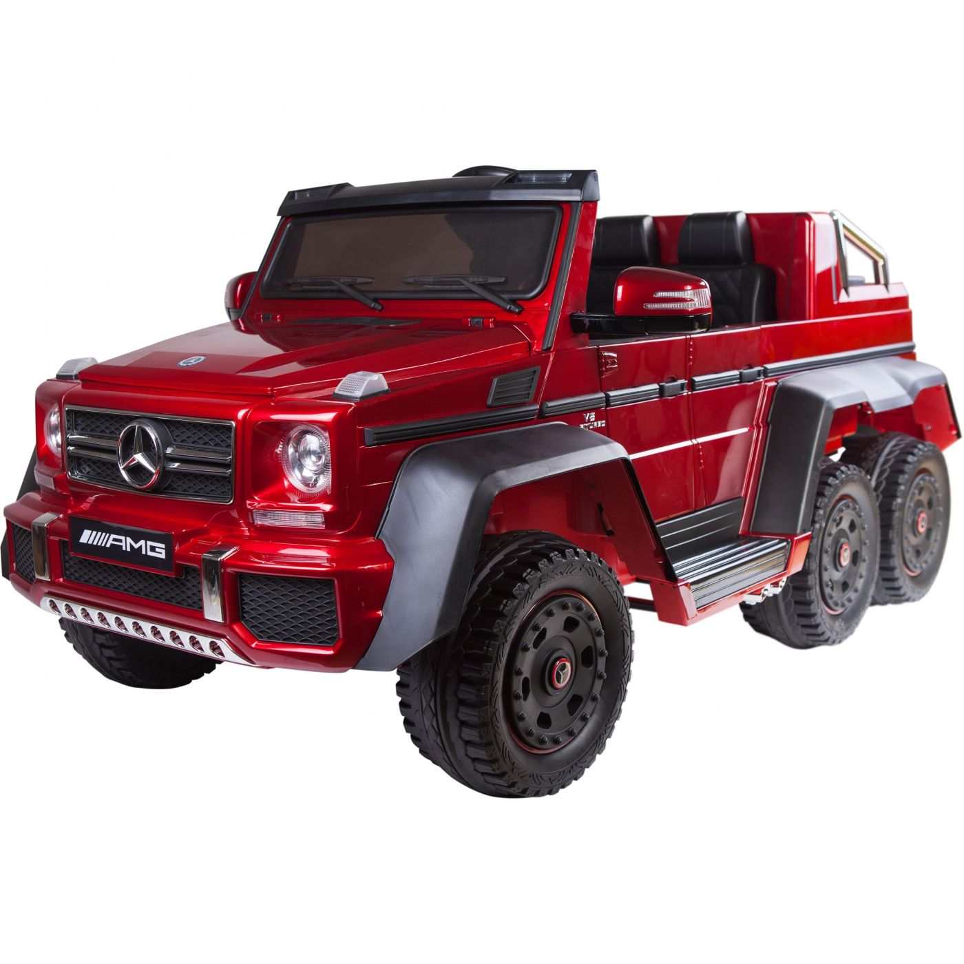 Mercedes 6X6 For Sale >> Licensed Mercedes Benz G63 6x6 Children S Electric Ride On Jeep Red