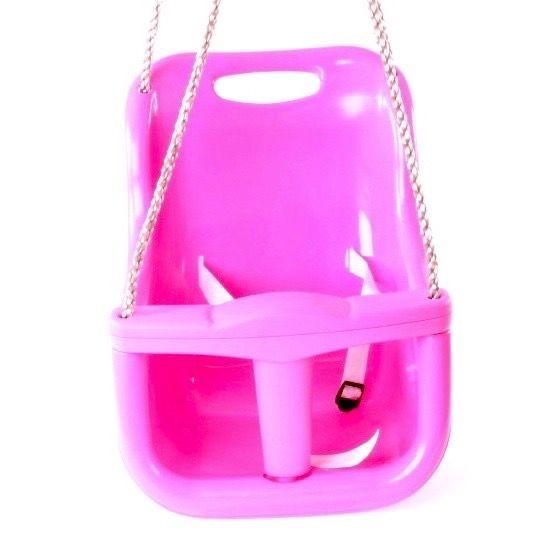 Rebo Back Supporting Baby Swing Seat   Pink