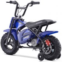 New Edition Renegade MK250 Kids 24V Electric Dirt Bike - Blue