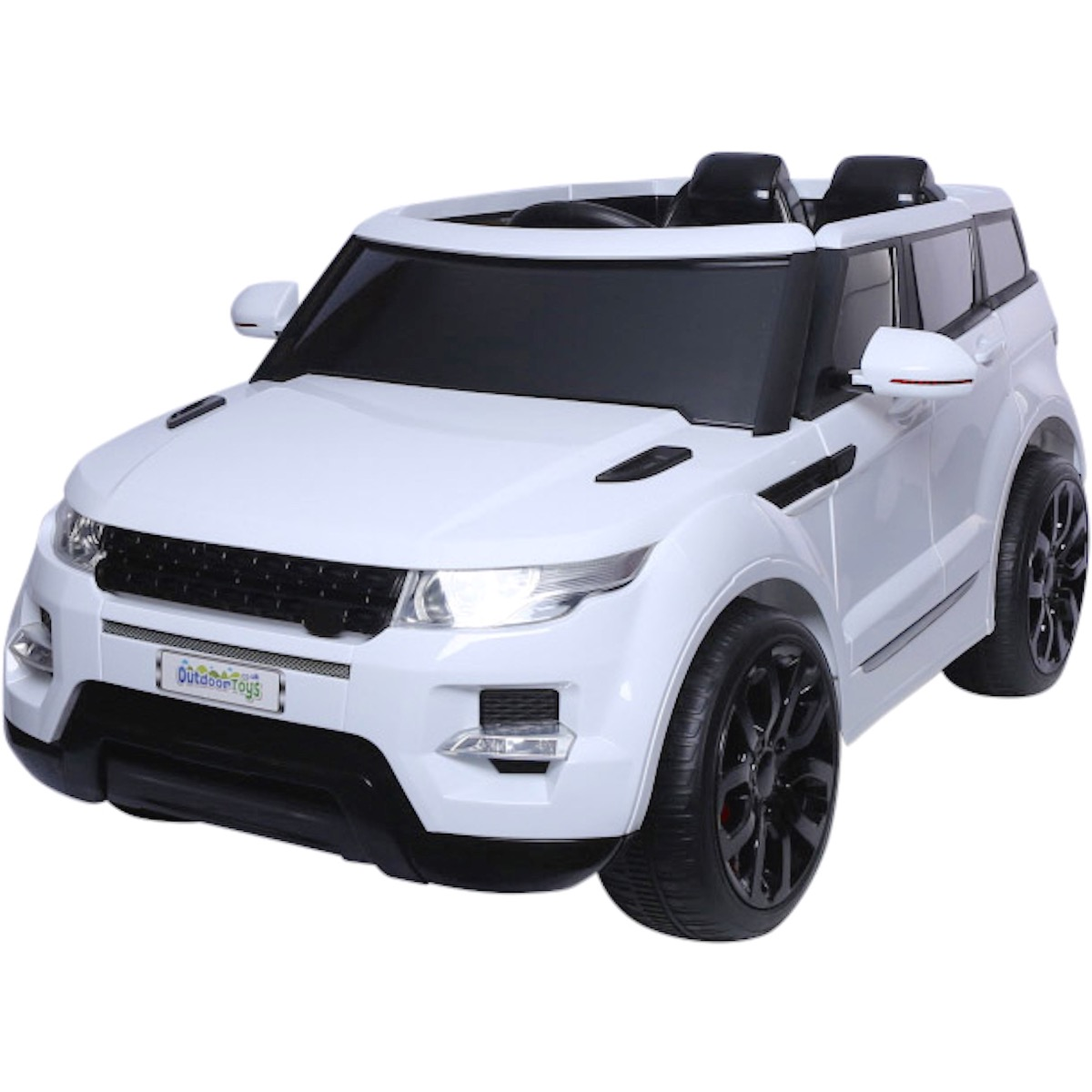 Maxi Range Rover Hse Sport Style 12v Electric Battery Ride On Car Wiring Diagram 12 Volt Toys Jeep White For Just 19995 Outdoor